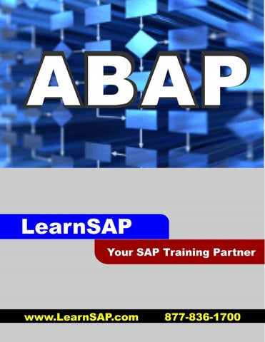 SAP ABAP Step-by-step Study Materials - Sample PDF by LearnSAP - issuu