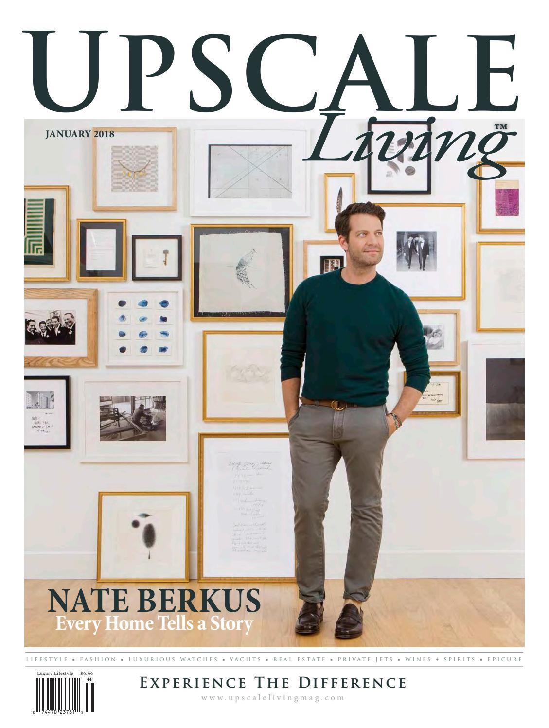 Jan 2018 digital magazine by Upscale Living Magazine - issuu 250ffc6eb659