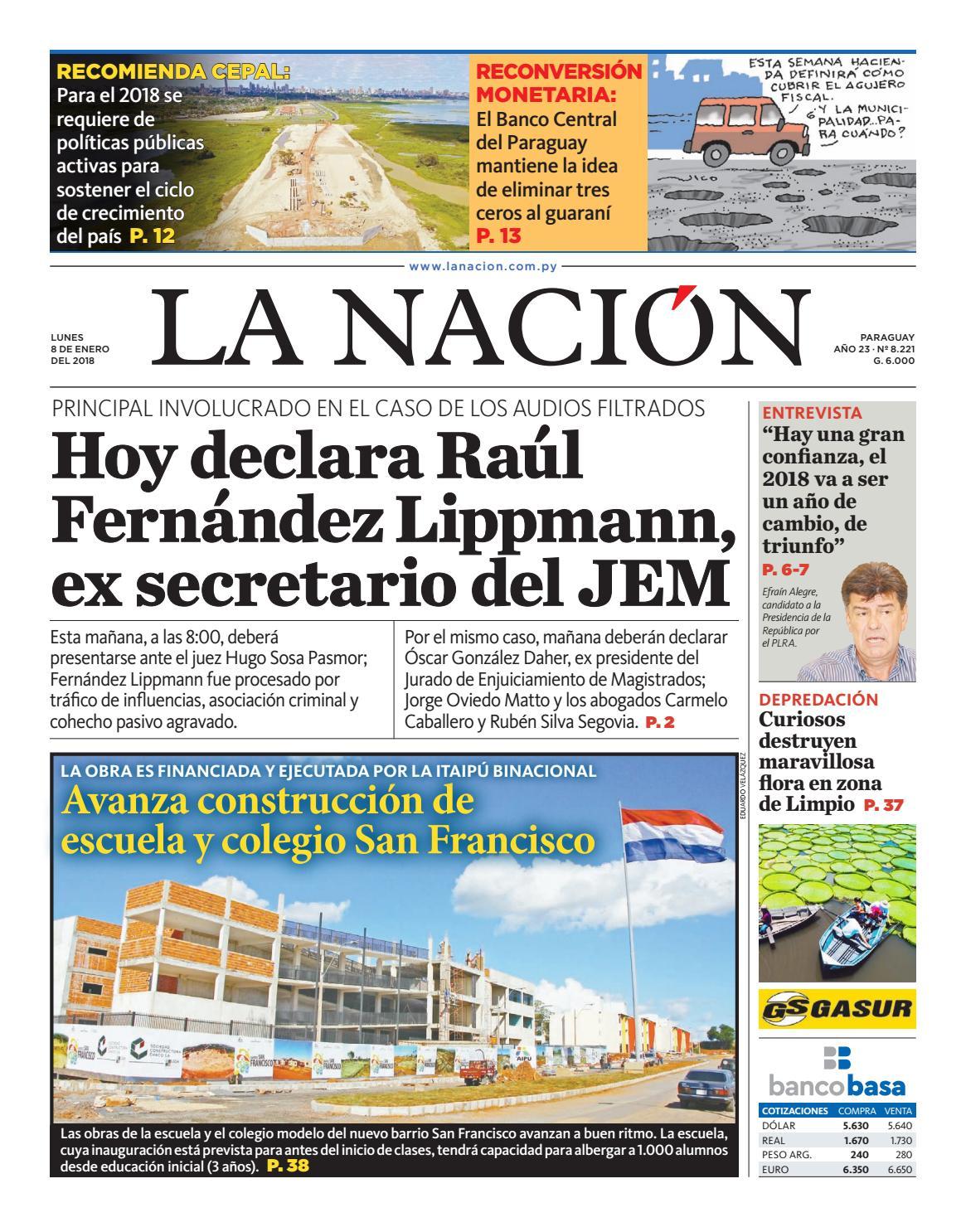 DIARIO LA NACIÓN - EDICIÓN 8.221 by La Nación - issuu