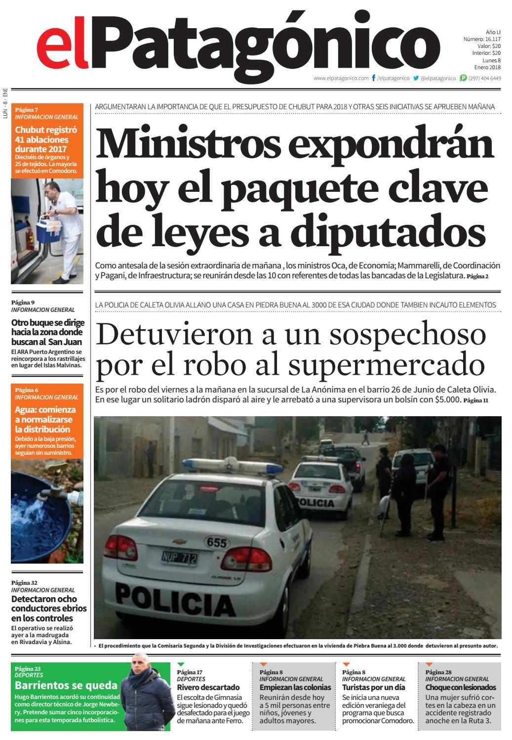 edicion223007012018.pdf by El Patagonico - issuu