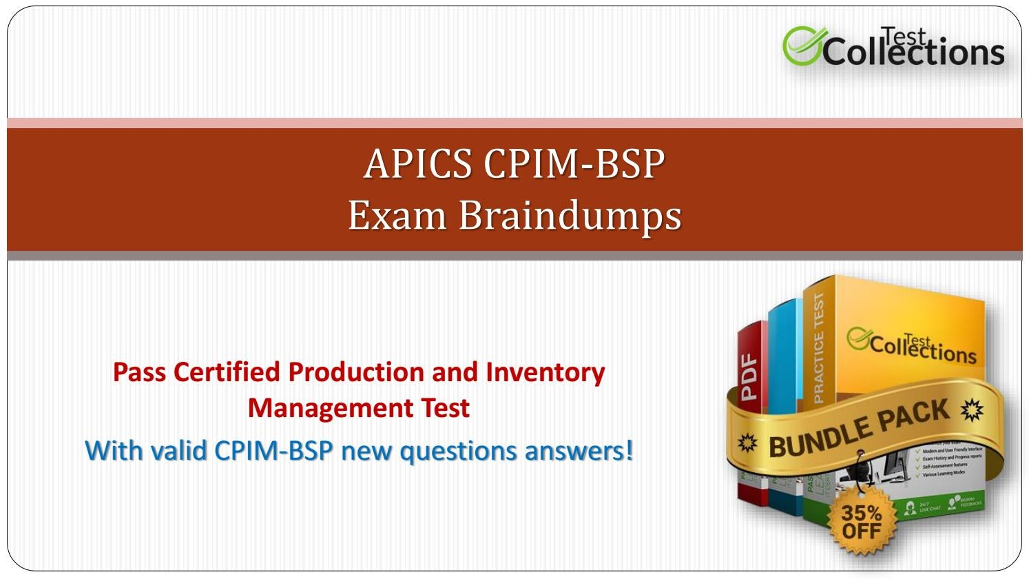 Cpim Bsp Dumps Ultimate Cheat Sheet On Cpim Bsp Exam By