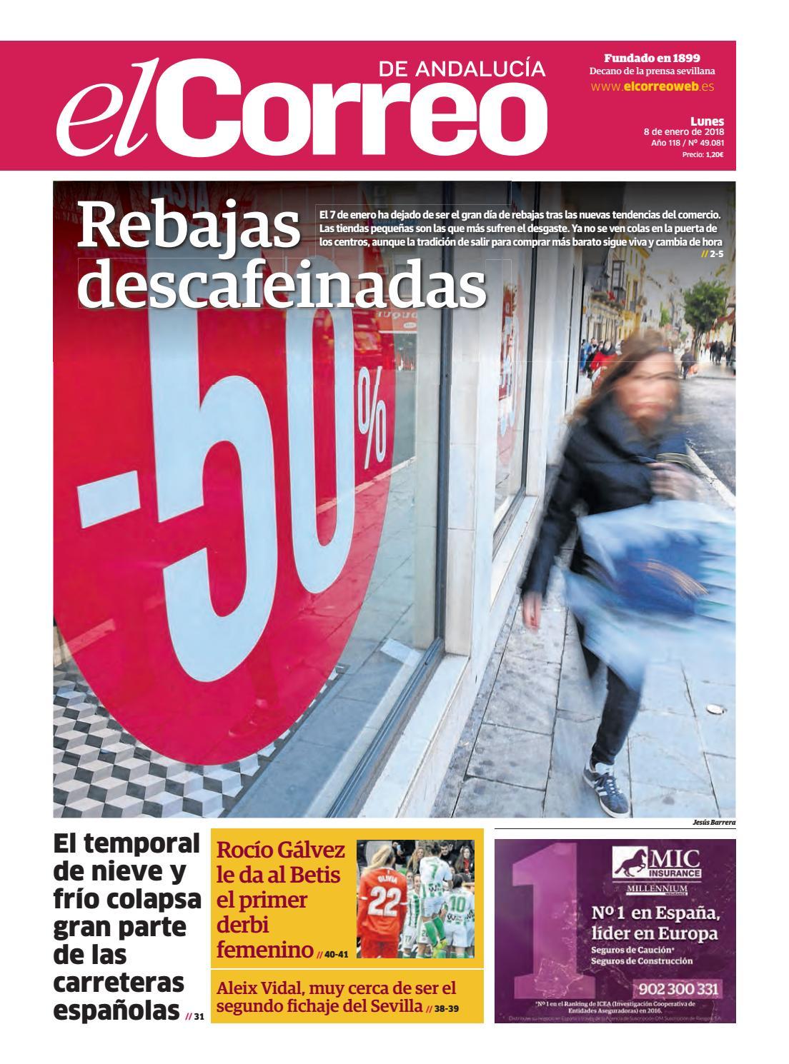 brand new 4dfae cfa1b 08.01.2018 El Correo de Andalucía by EL CORREO DE ANDALUCÍA S.L. - issuu