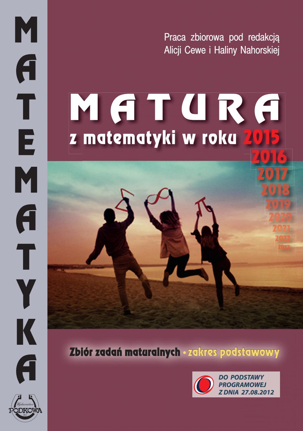 matura 2011 matematyka zadania