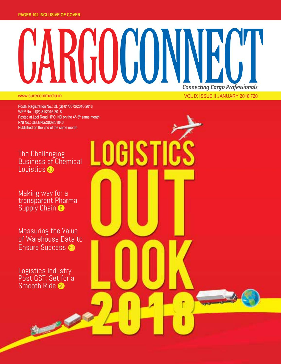 CARGOCONNECT January 2018 by Surecom Media - issuu