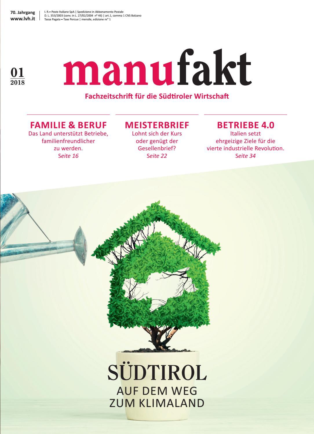 manufakt, Jänner 2018 by Margareth Bernard - issuu