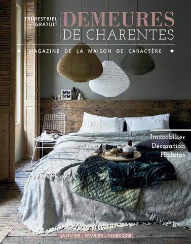 Demeures de Charentes - Janvier2018 by MAGAZINE DEMEURES DE ... 2b5e4019586