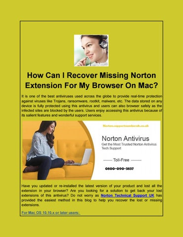norton antivirus extension