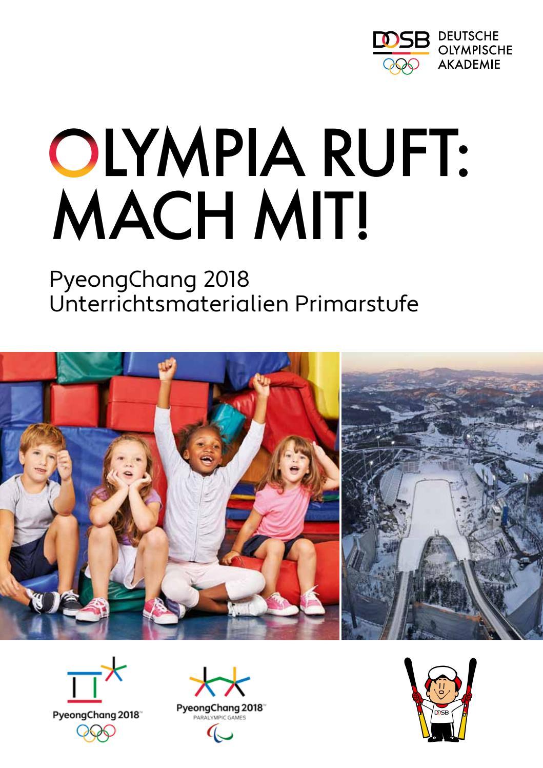 Olympia ruft: Mach mit!\