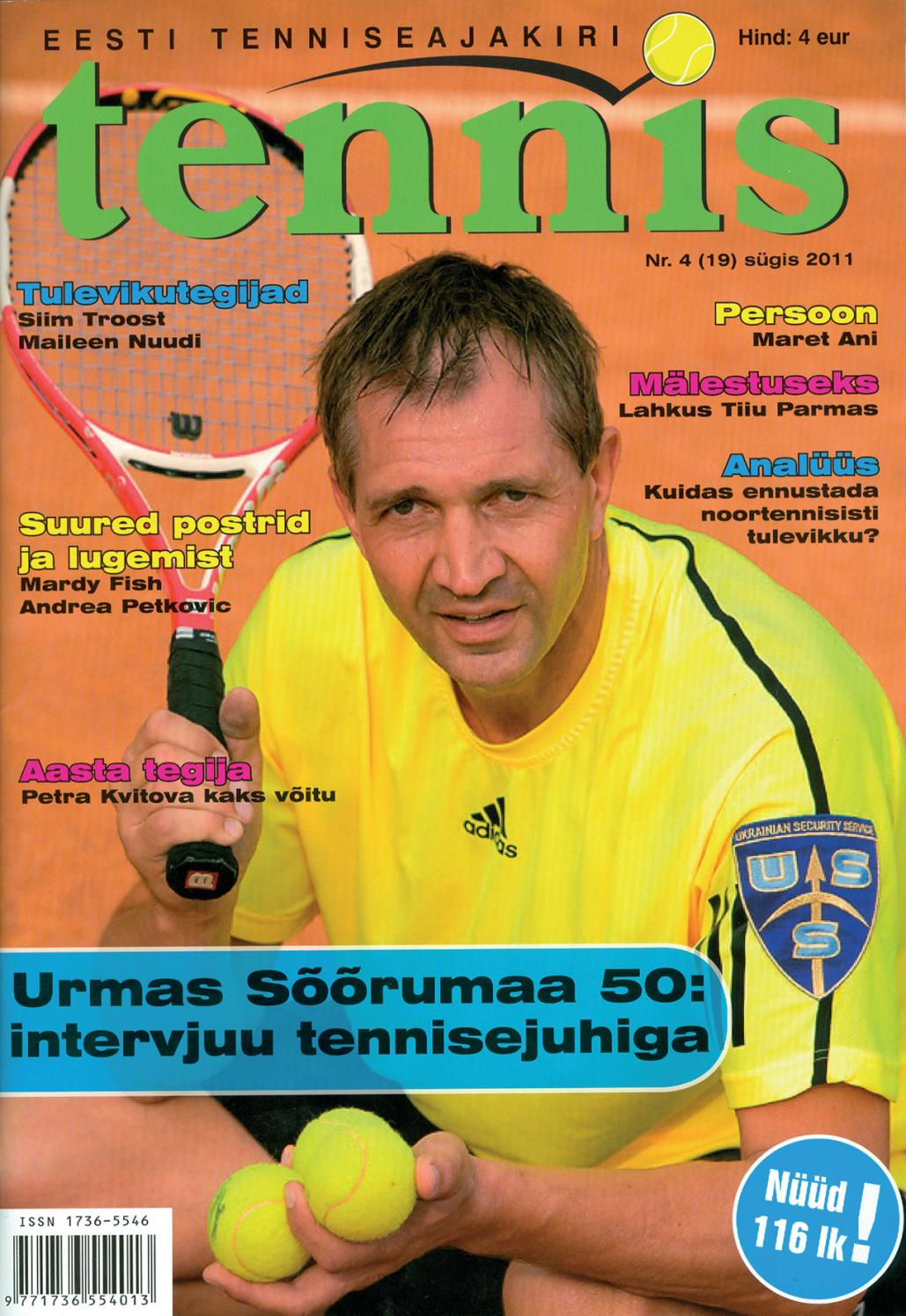 93235669277 Tennis sügis 2011 by Ajakiri Tennis - issuu