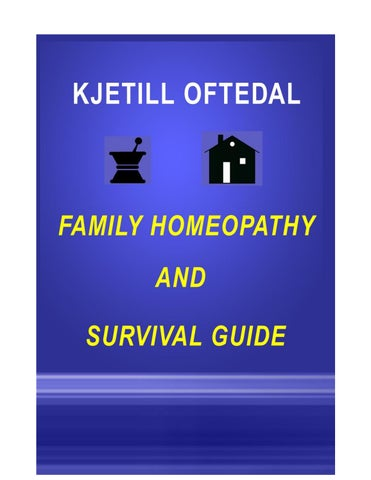 Family guide to homeopathy en uk HOM DR Imran by M Imran Doctor - issuu
