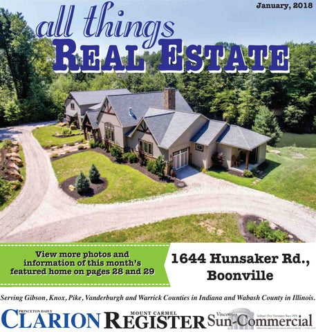 All Things Real Estate January 2018