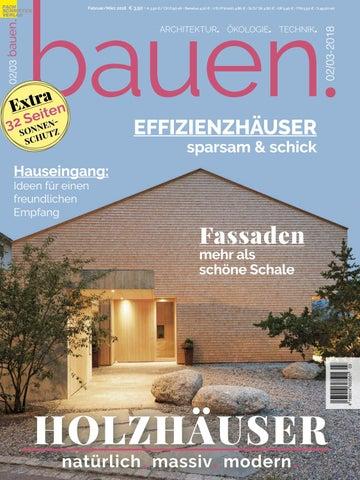 Bauen 2 3 2018 By Fachschriften Verlag Issuu