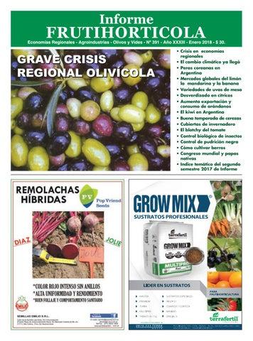 b558e2e8b1c1 Informe Frutihortícola Enero 2018 by Horticultura   Poscosecha - issuu