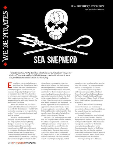Page 20 of Behind the Sea Shepherd Logo by Captain Paul Watson