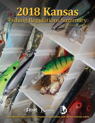 2018 kdwpt fishing regulations by kansas department of for Ks fishing license