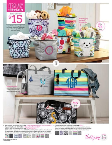 Thirty One February 2018 Specials By April Gilman Issuu