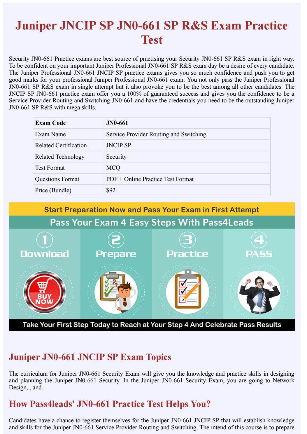 Juniper Security JN0-661 Exam Questions - Free Demo by