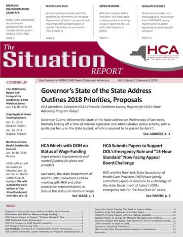 June   Edition Of The Situation Report By Home Care