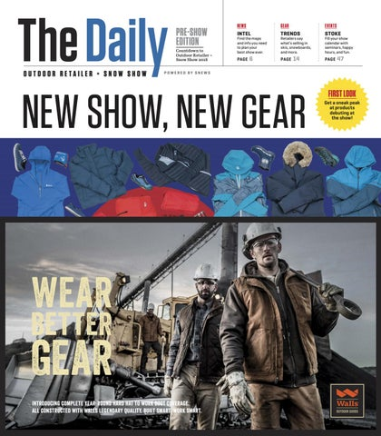 outdoor retailer 2018 winter preview by active interest media  Neu Rover Lakes Blau Schnrschuhe Herren Outlet P 320 #19