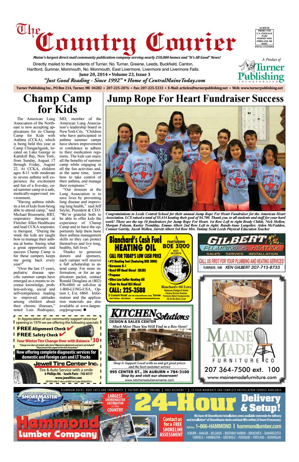 The Country Courier Mid-Month June 2014 by Turner Publishing