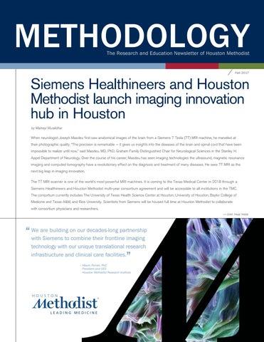 Methodology Newsletter - Fall 2017 by Houston Methodist