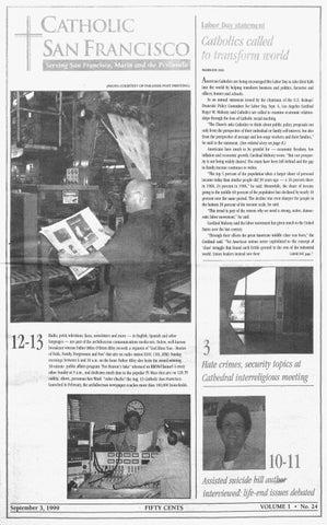 5de4d13e460 September 3, 1999 by Catholic San Francisco - issuu