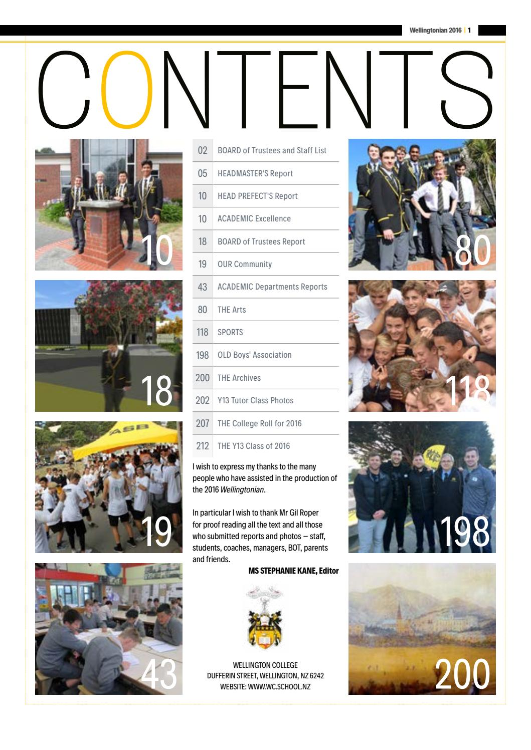 The wellingtonian 2016 by wellington college issuu fandeluxe Image collections
