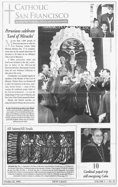 October 29, 1999 by Catholic San Francisco - issuu