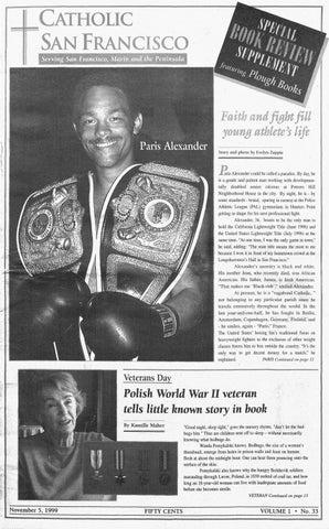 November 5 1999 By Catholic San Francisco Issuu