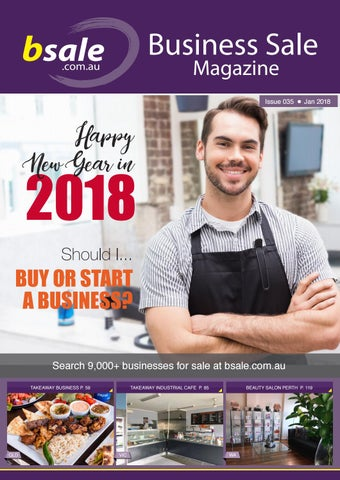 business for sale magazine january 2018 by bsale australia issuu