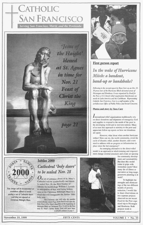 November 19, 1999 by Catholic San Francisco - issuu
