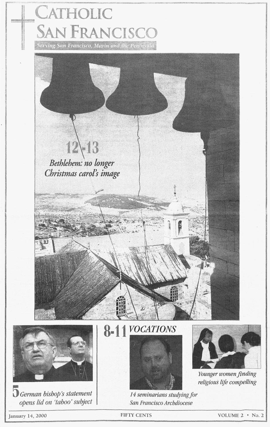 January 14, 2000 by Catholic San Francisco - issuu