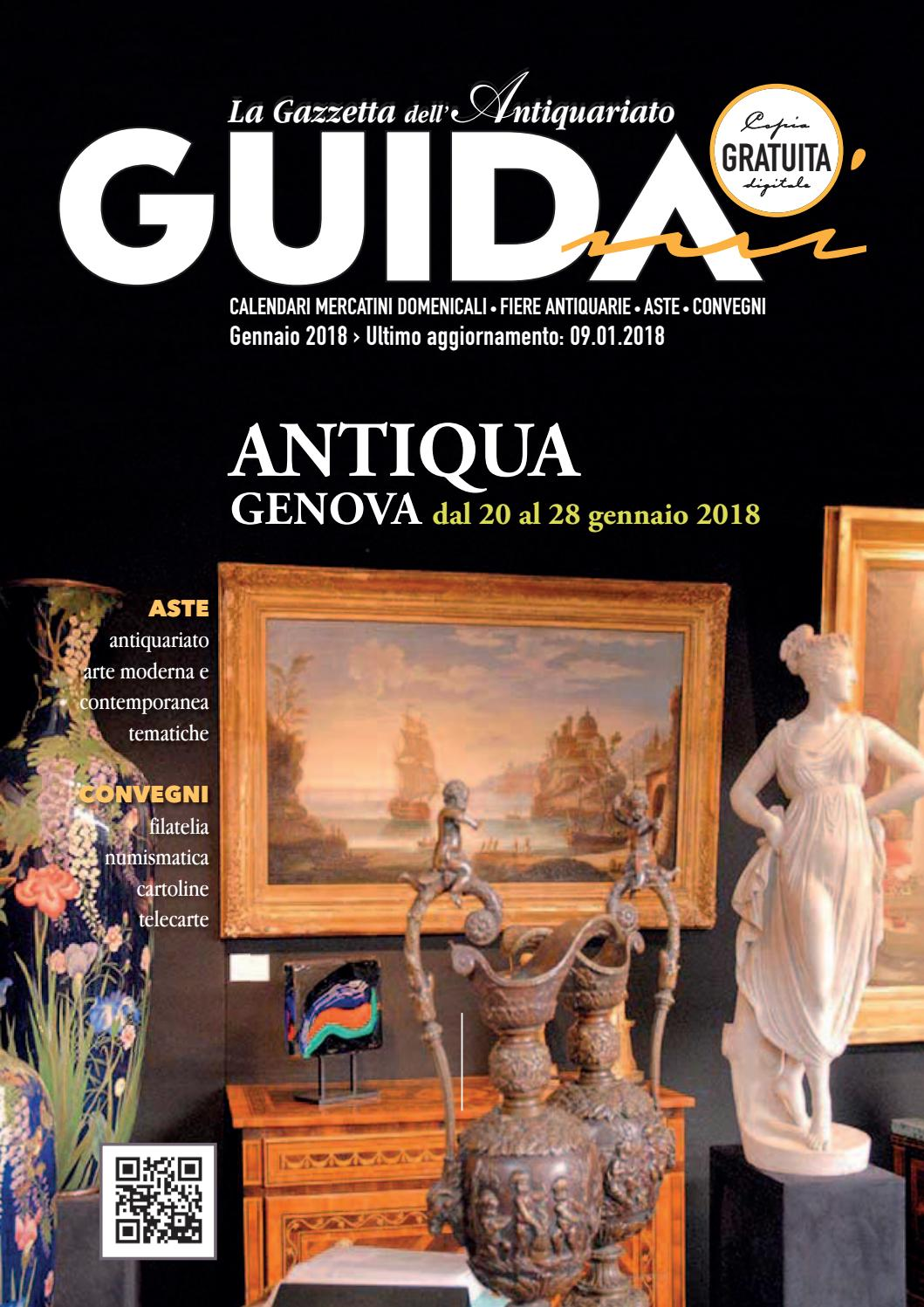 Calendario Aste Antiquariato Italia.Guidami Gennaio 2018 By La Gazzetta Dell Antiquariato Issuu