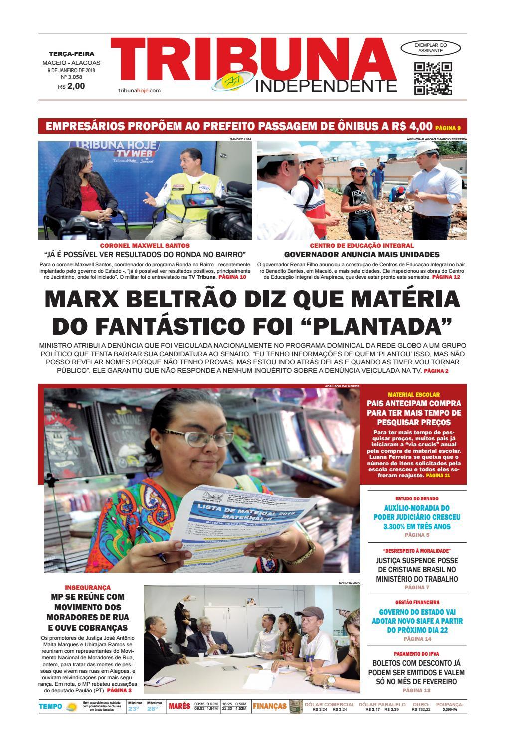 c9429882db3 Edição número 3058 - 9 de janeiro de 2018 by Tribuna Hoje - issuu