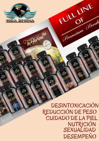 Catálogo de Productos Vida Divina en Español. by