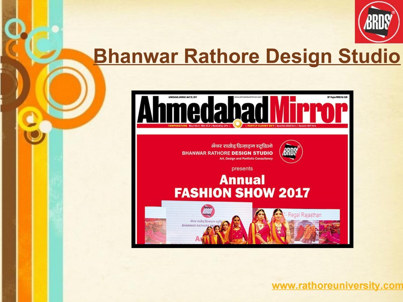 Diploma In Fashion Designing Rathore University In Ahmedabad By Rathore University Issuu