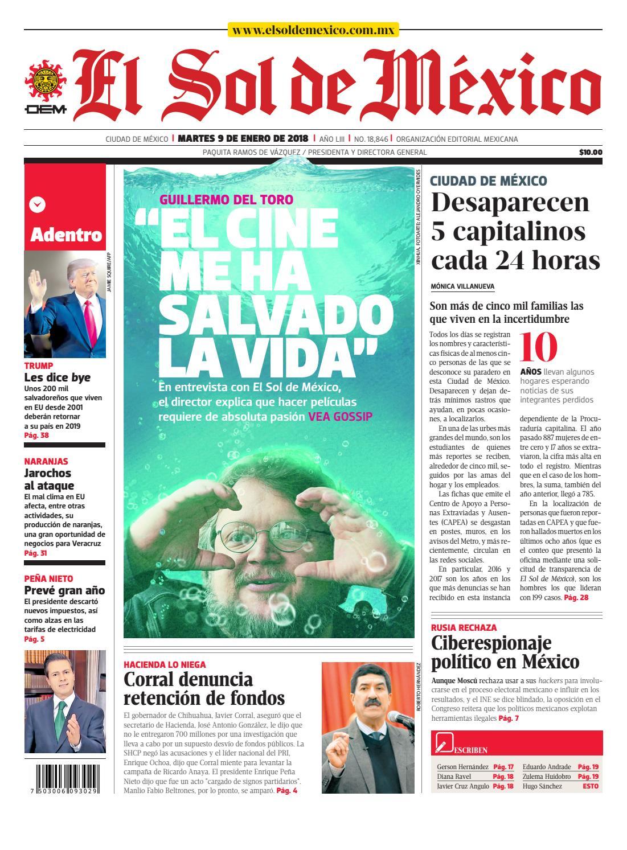 e446c48e3965 El Sol de México 9 de Enero de 2018 by El Sol de México - issuu