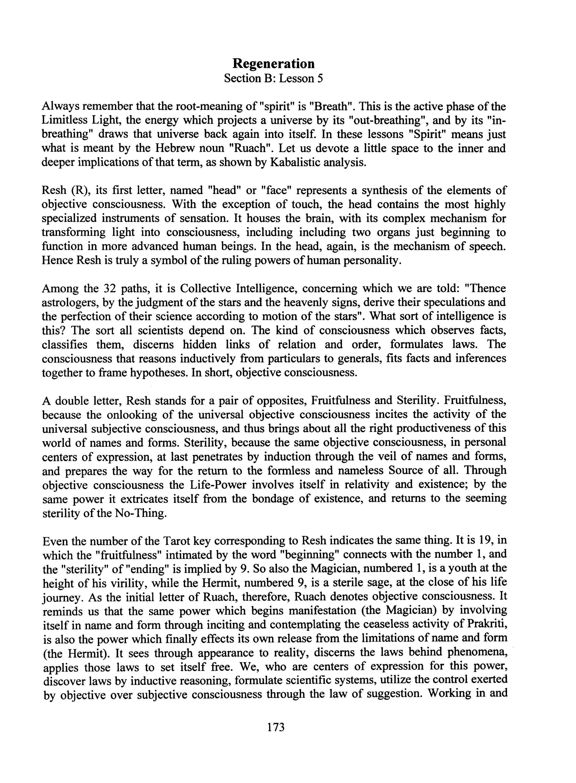 Paul-Foster-Case-Occult fundamentals spiritual unfoldment