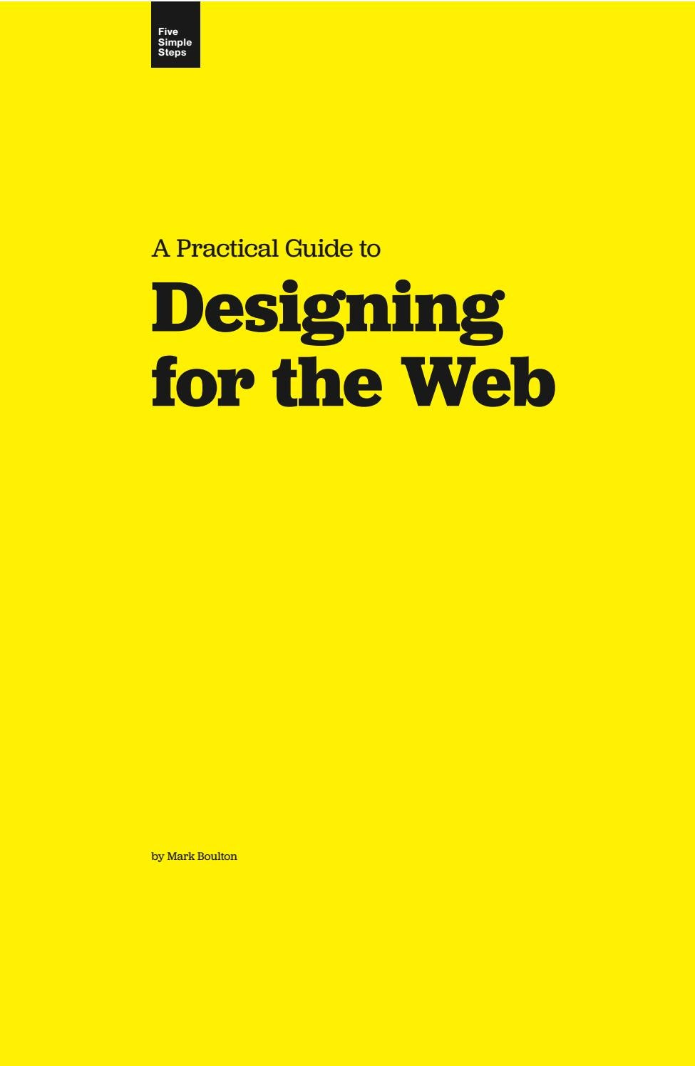 Designing For The Web Mark Boulton By Huỳnh Minh Nhựt Issuu