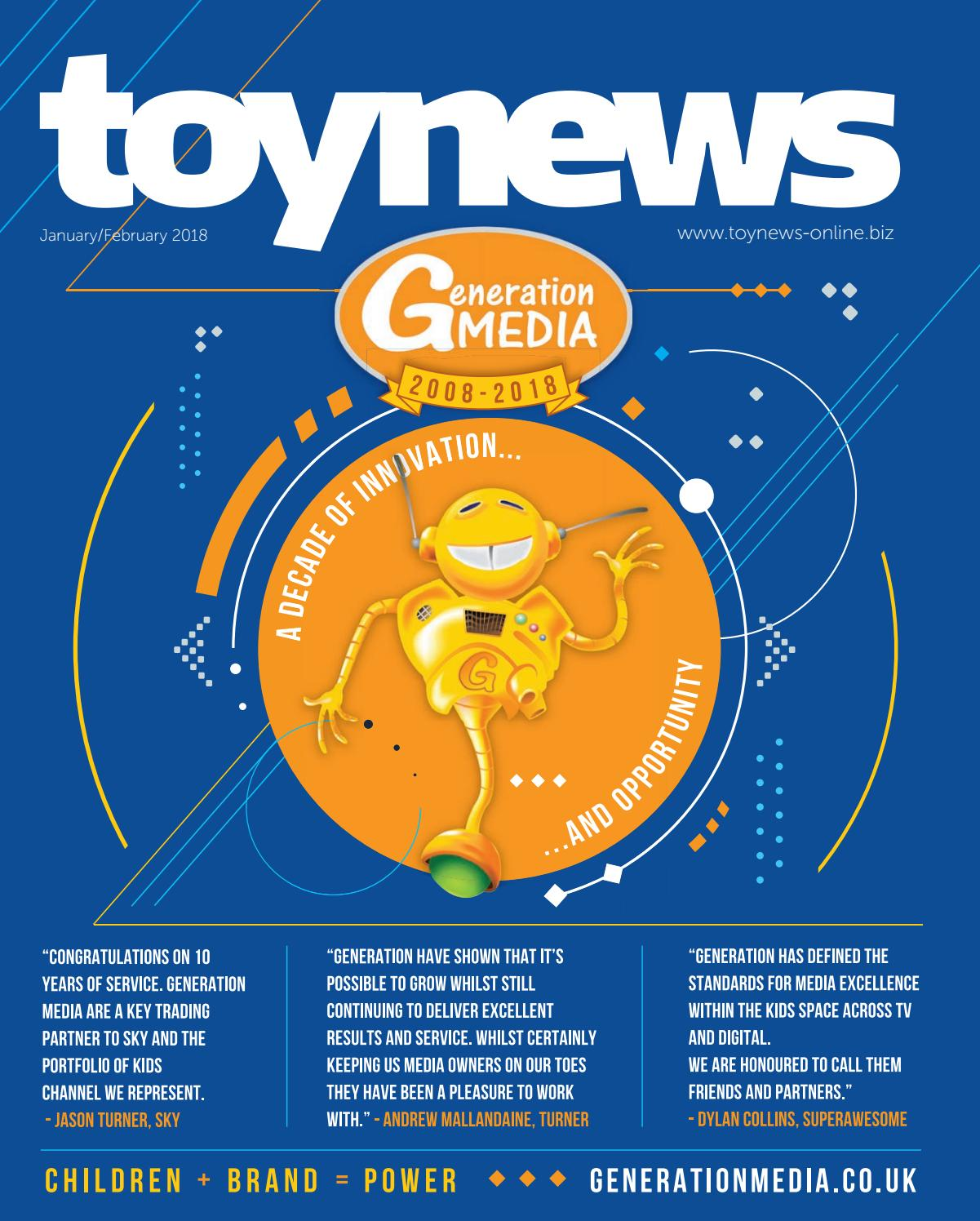 Toy News Jan - Feb 2018 by Future PLC - issuu f3f57435e13c