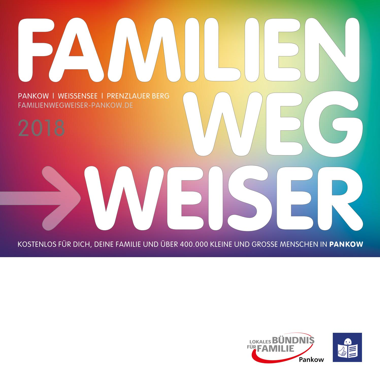 Familienwegweiser Pankow 2018 by IN TOUCH VERLAG - issuu