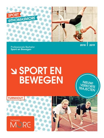 0f46767eb23 Brochure Sport en Bewegen (Turnhout) 2018-2019 by ThomasMoreBE - issuu