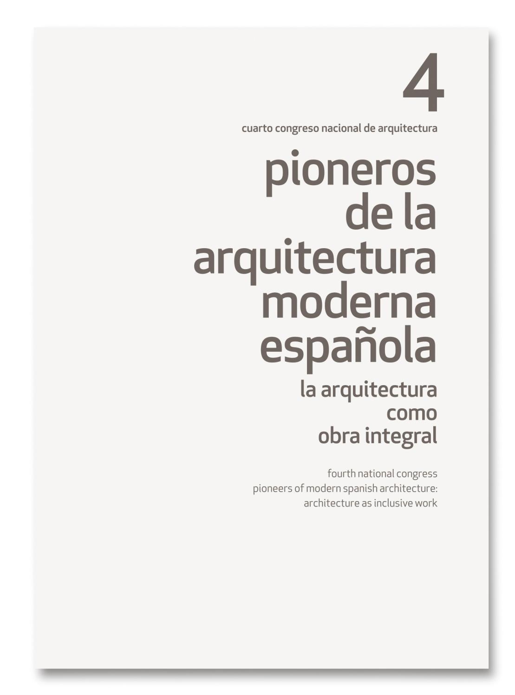 Pioneros de la Arquitectura Moderna Española IV by TC Cuadernos - issuu