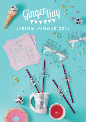 a9fea1512e6f2 Ginger Ray Spring Summer 2018 Brochure by Ginger Ray - issuu