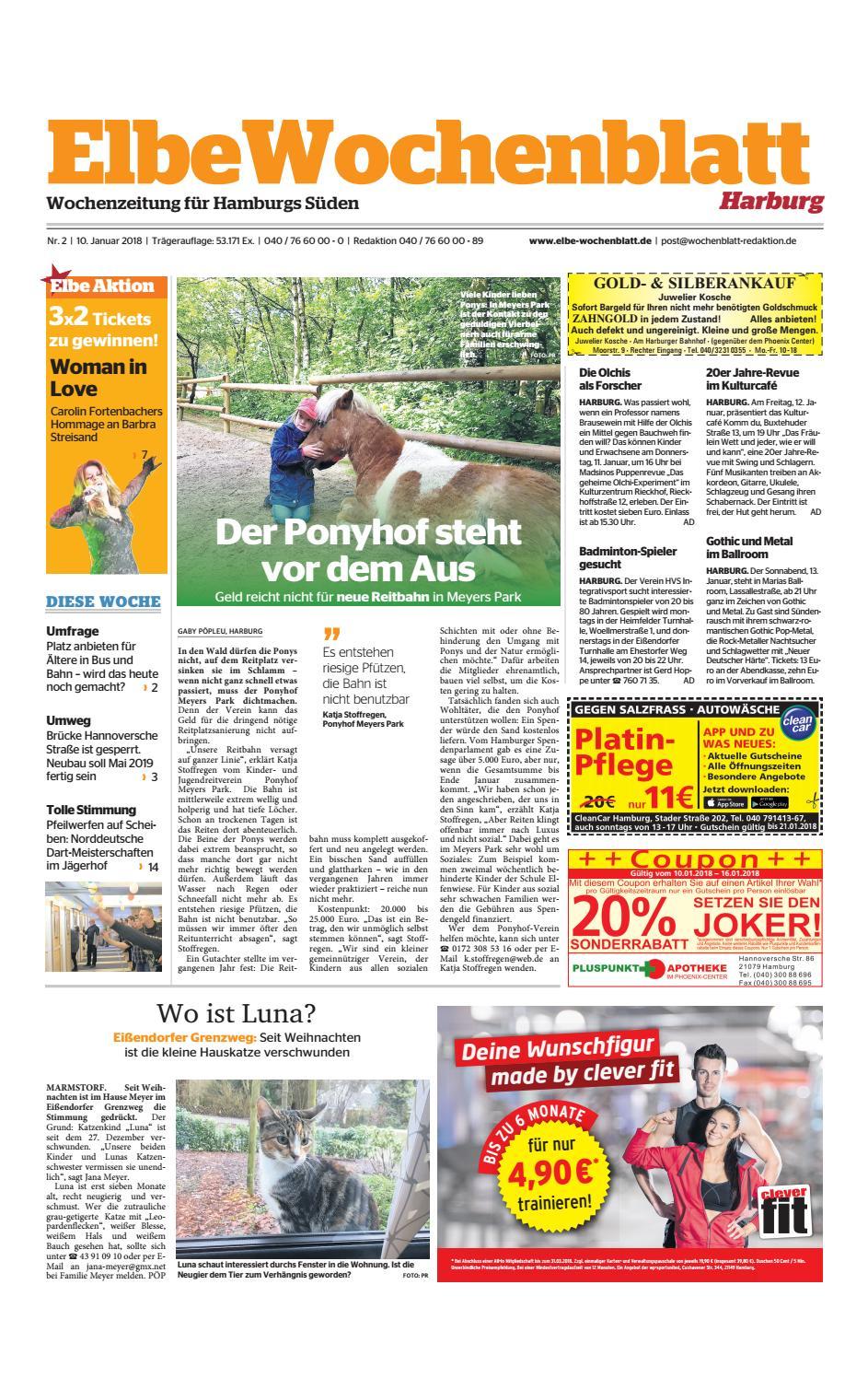 Harburg KW02 2018 by Elbe Wochenblatt Verlagsgesellschaft mbH & Co KG issuu