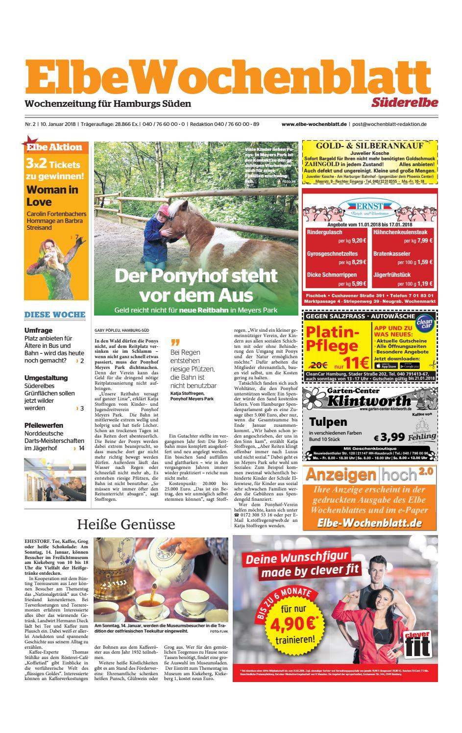Süderelbe KW02 2018 by Elbe Wochenblatt Verlagsgesellschaft mbH & Co KG issuu