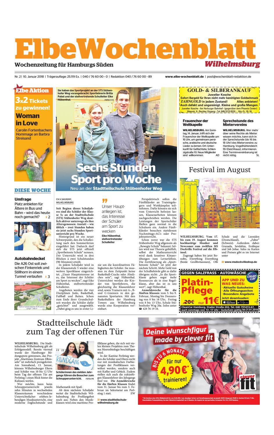 Wilhelmsburg KW02 2018 by Elbe Wochenblatt Verlagsgesellschaft mbH & Co KG issuu