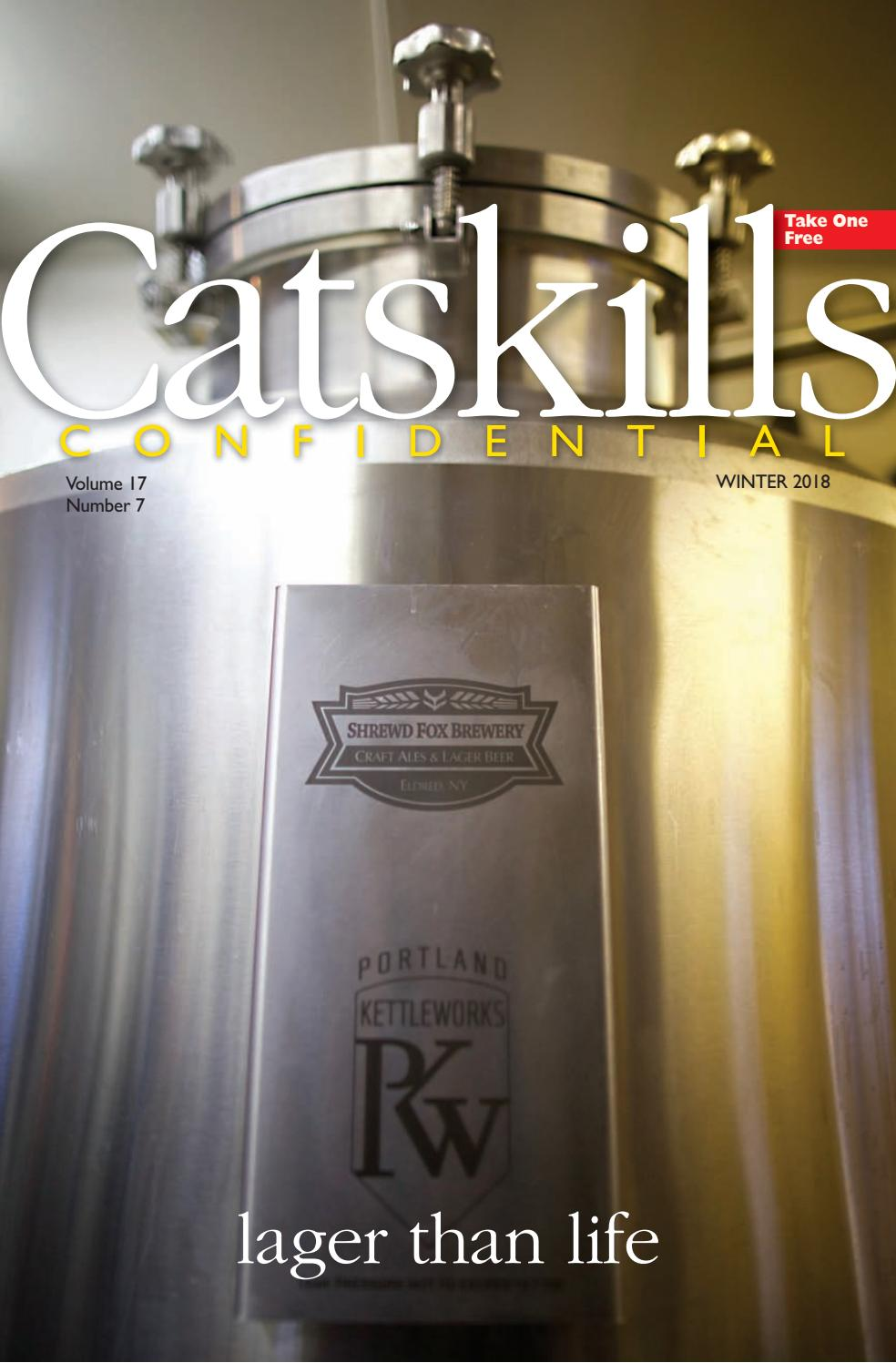 Catskills Confidential Winter 2018 By Sullivan County