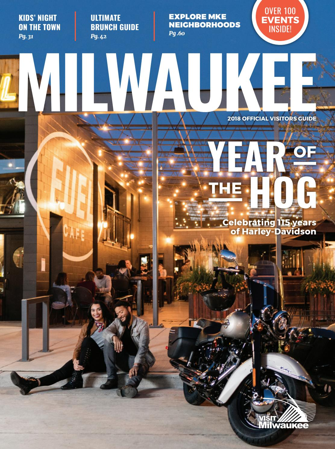 2018 Official Visitors Guide by VISIT Milwaukee - issuu 6055d0ffb