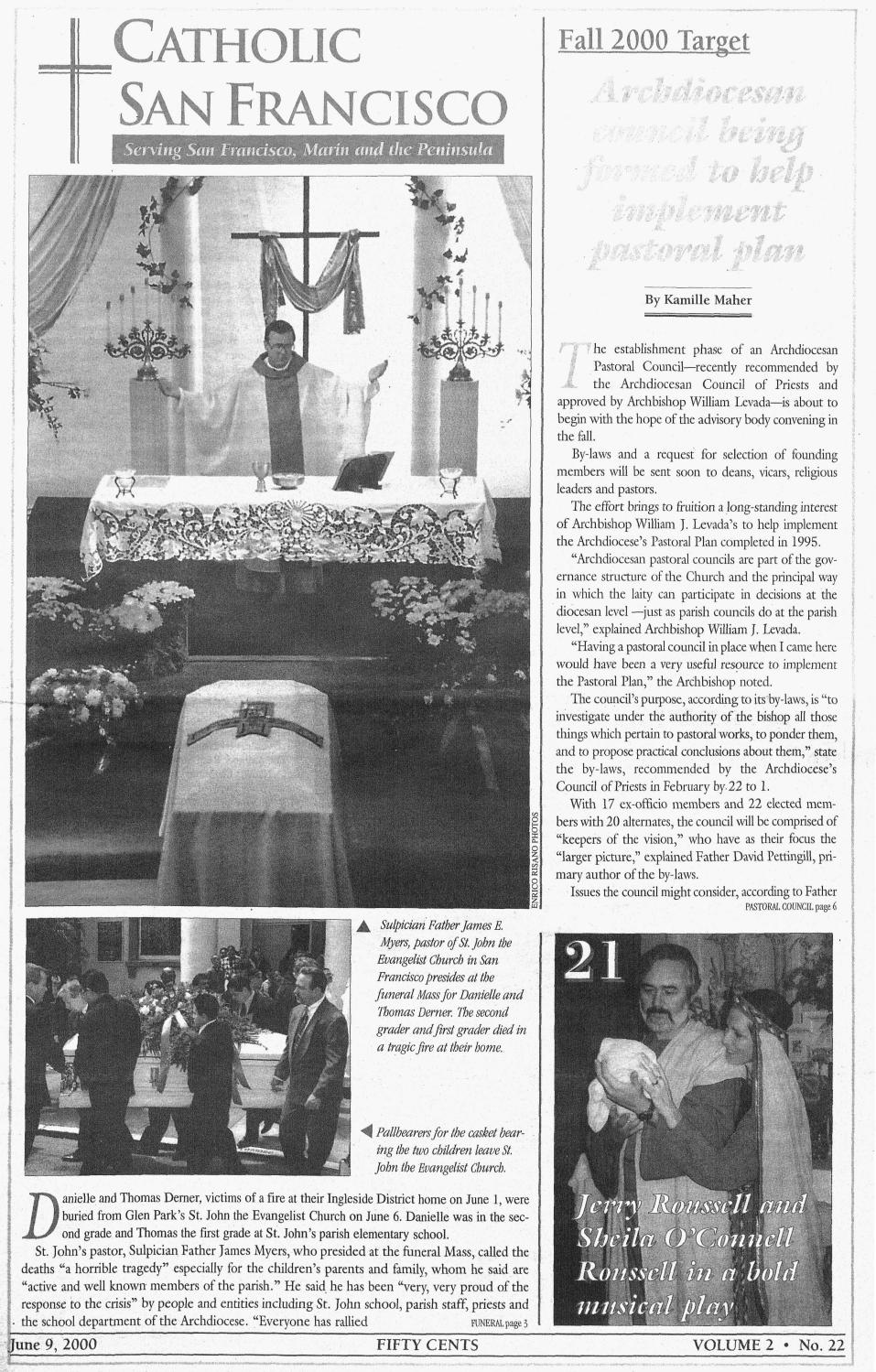 June 9, 2000 by Catholic San Francisco - issuu